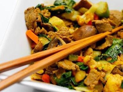 AIP recept- Marhahúsos sült zöldségek
