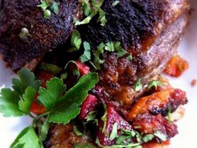 AIP recept – Sült bárány szivárvány zöldségekkel