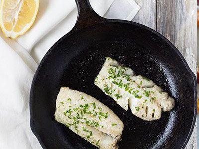 AIP recept- Sült hal