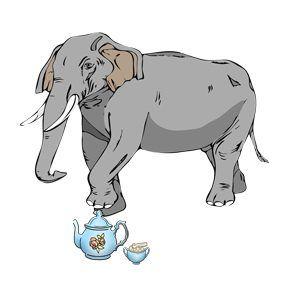 Ez törtét, amikor elefánt voltam a porcelánboltban…