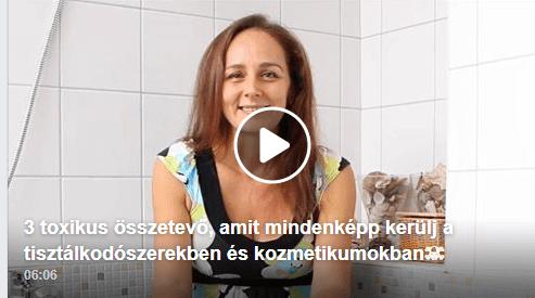 Toxinmentes fürdőszoba