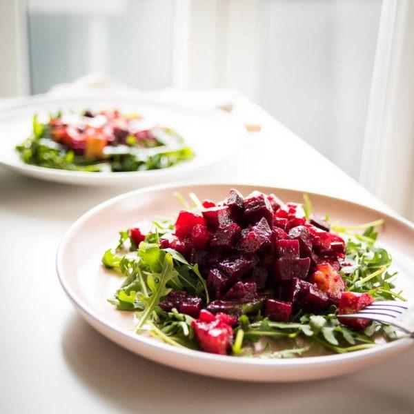 szines téli saláta